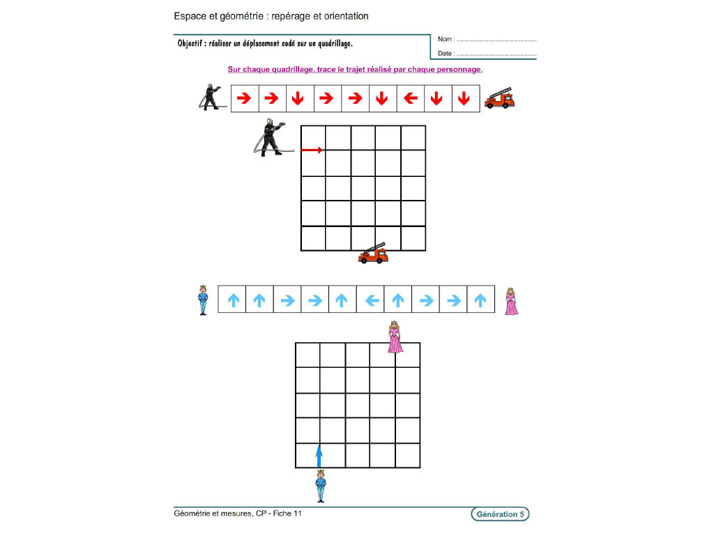 Evolu Fiches Geometrie Et Mesures Au Cp