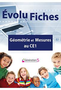 Evolu Fiches - Géométrie et Mesures au CE1