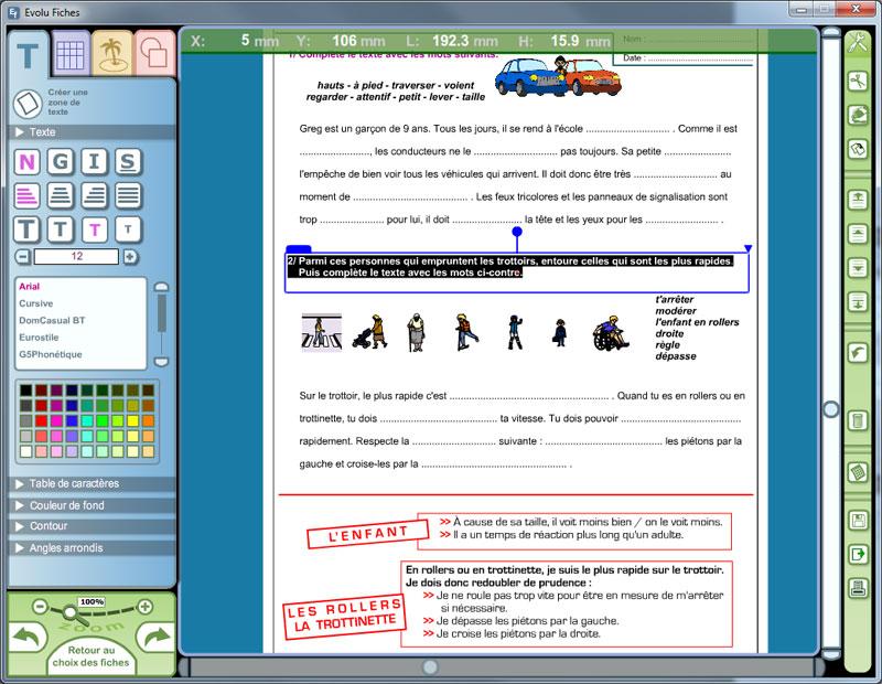 Logiciel Sécurité routière et gestes de premiers secours (CE-CM)
