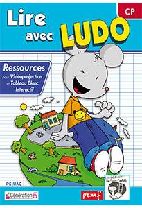 Lire, dire, écrire avec Ludo - Logiciel pour vidéoprojection
