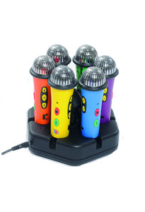 PACK 6 micros MP3