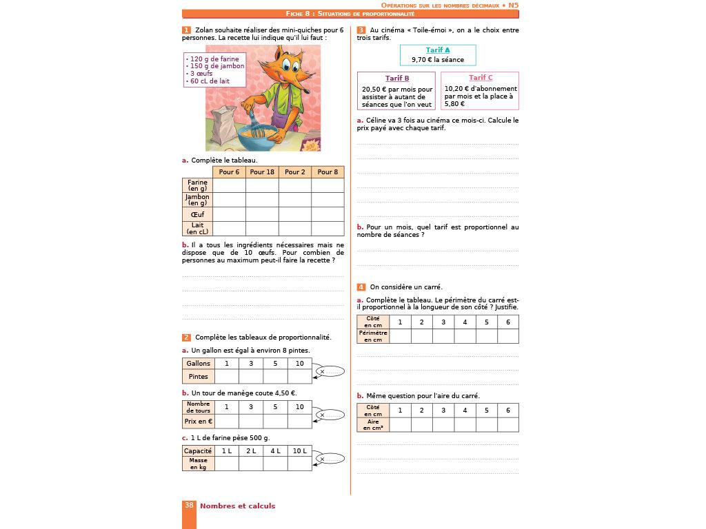 Cahier d'exercices iParcours MATHS CM2 (éd. 2017)