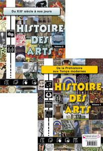 PACK Histoire des Arts (vol.1 + vol.2)
