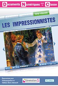 Les Impressionnistes (Documents Numériques Interactifs)
