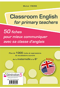 Classroom English for primary teachers