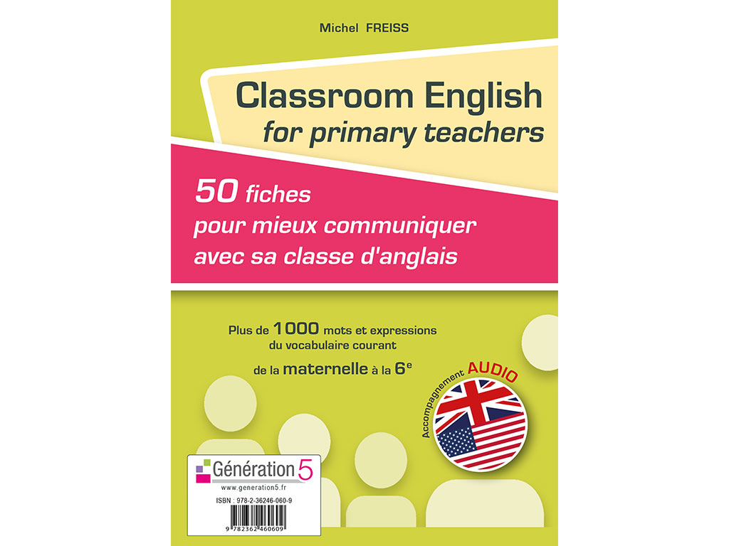 Classroom English for primary teachers