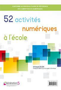 52 activités numériques à l'école