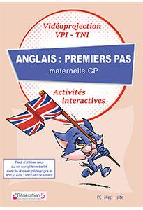 Anglais : premiers pas (Ressources TBI - Vidéoprojection)
