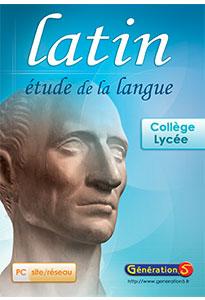 LATIN - Etude de la langue