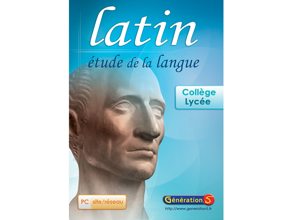 Logiciel Latin - étude de la langue
