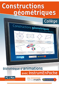 Constructions géométriques au collège