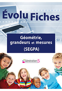 Evolu Fiches - Géométrie, grandeurs et mesures (SEGPA)