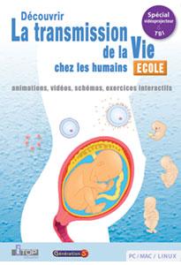La transmission de la Vie chez les humains (Cycle 3 - SEGPA)