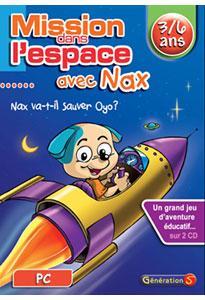 Mission dans l'espace avec Nax