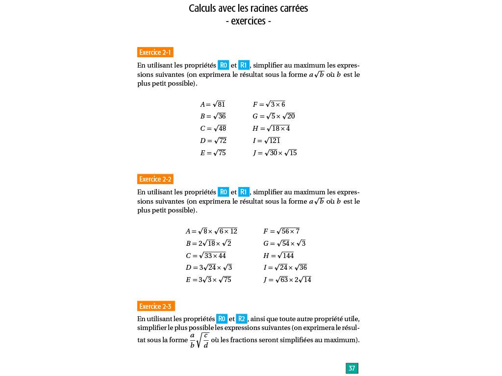 Maths Lycee Seconde Reviser Les Fondamentaux