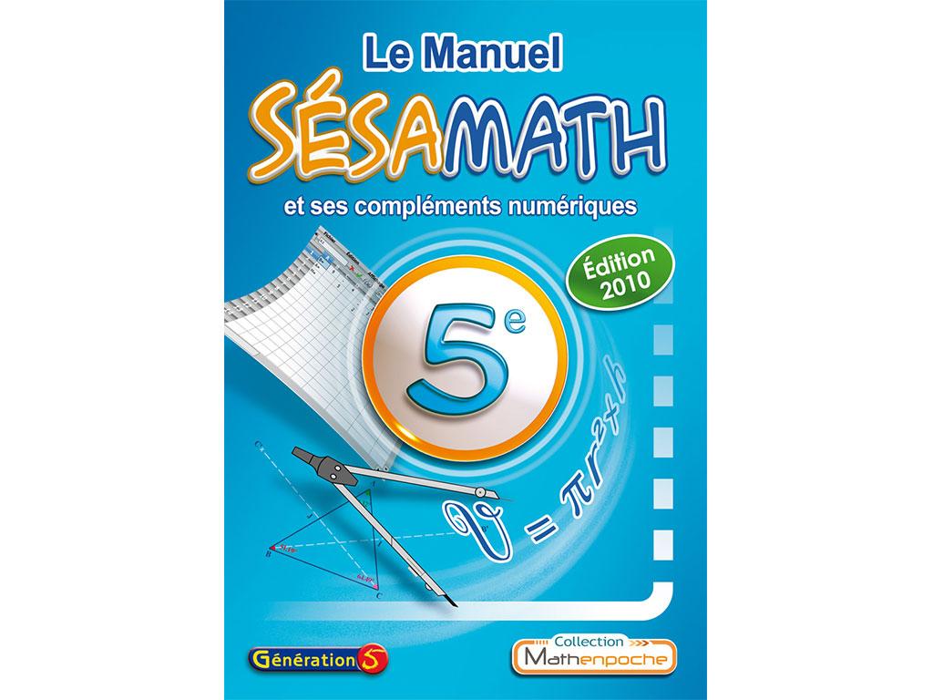 Manuel Sésamath 5e (éd. 2010)