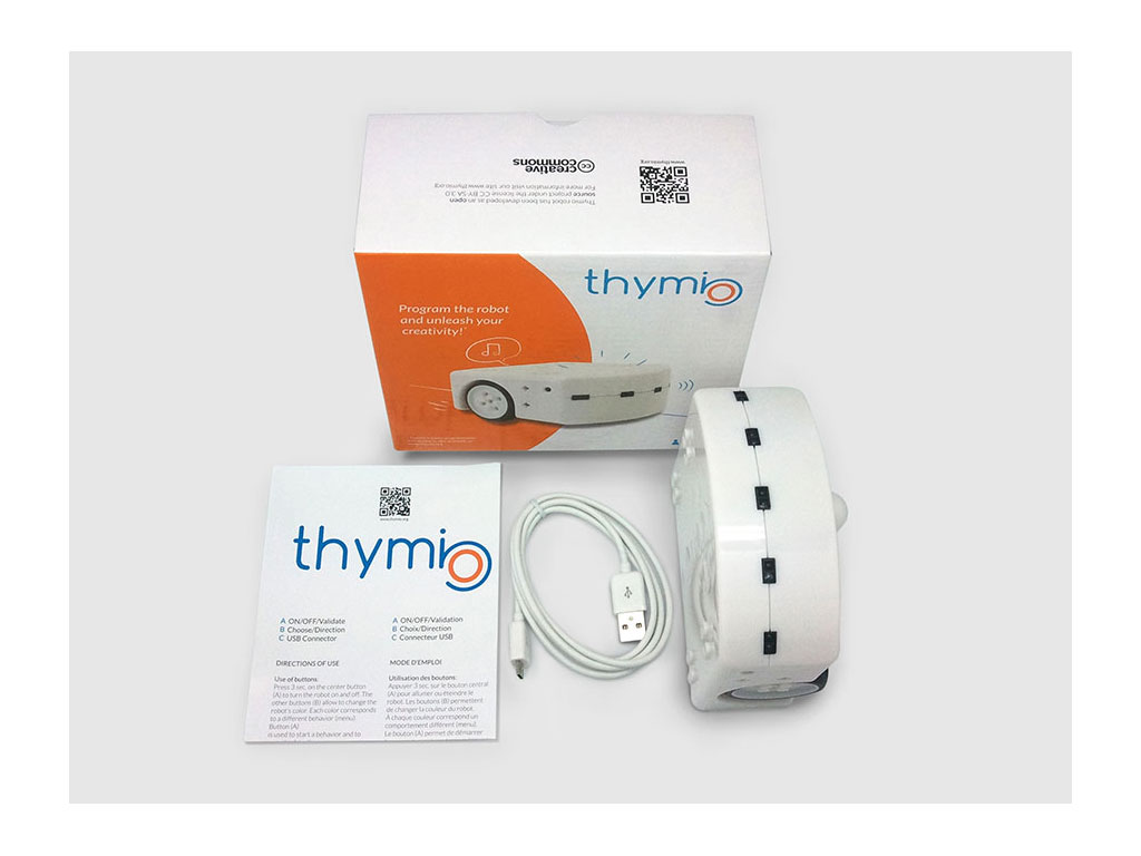 Boite du robot Thymio 2 wireless