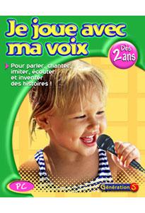 Je joue avec ma voix