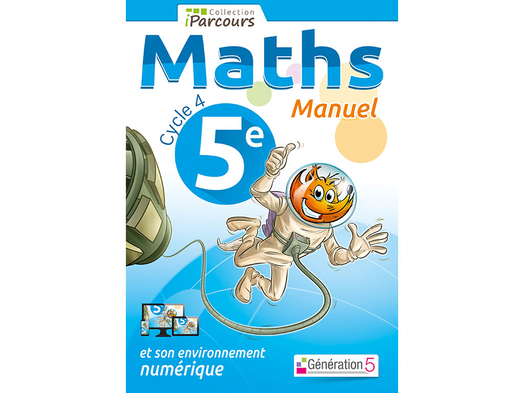Manuel Iparcours Maths 5eme Cycle 4