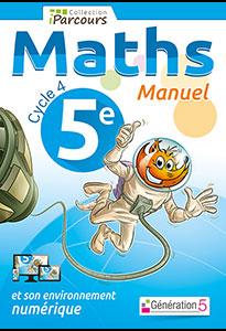 Manuel iParcours Maths 5ème (Cycle 4)