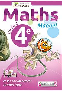 Manuel iParcours Maths 4ème (Cycle 4)