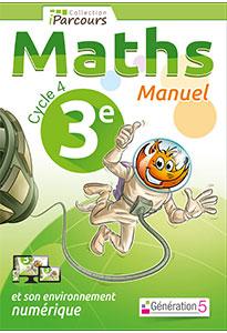 Manuel iParcours Maths 3ème (Cycle 4)