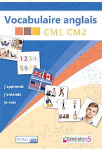 Vocabulaire anglais CM1-CM2