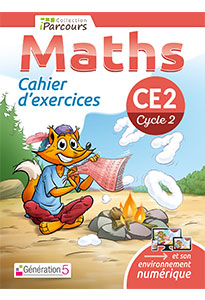 Cahier d'exercices iParcours MATHS CE2 (éd. 2018)
