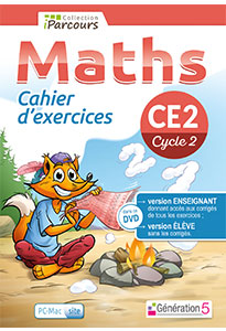 Cahier numérique iParcours Maths CE2 (éd. 2018) pour l'enseignant