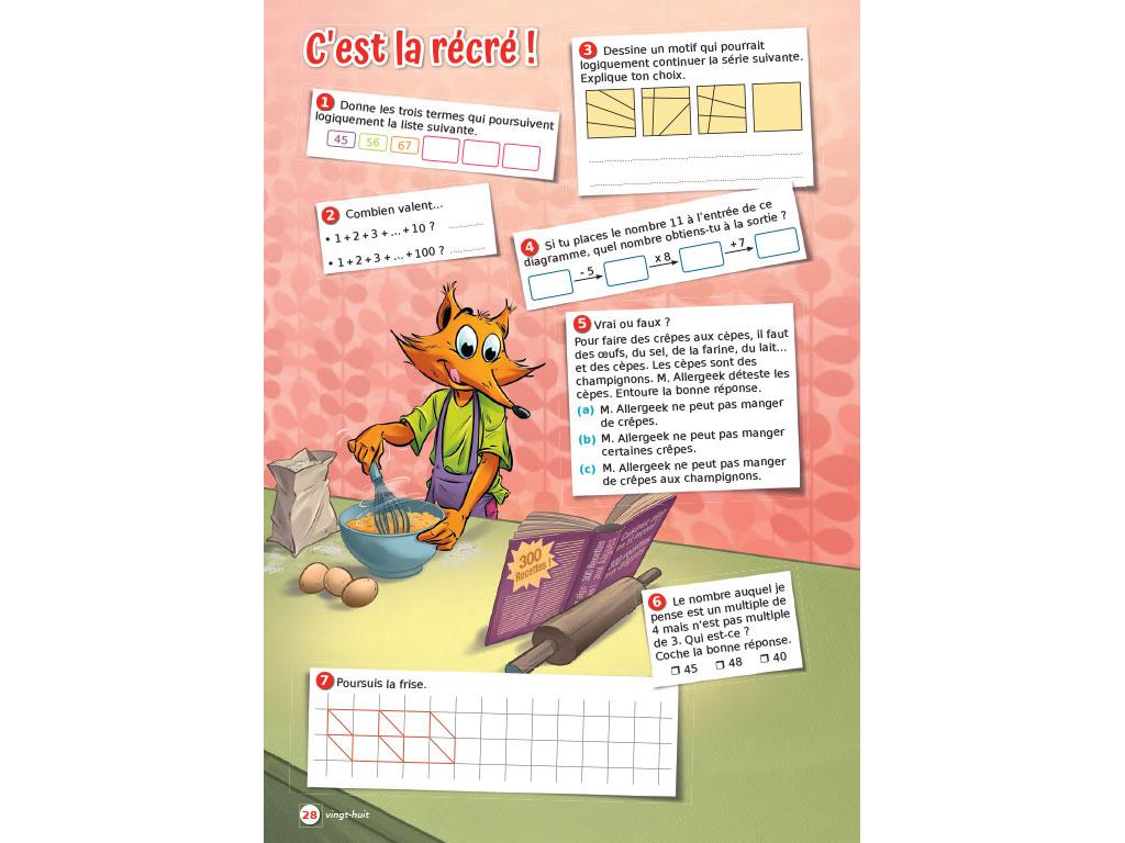 Jeux mathématiques cycle 3 - P'tit Rusé iParcours