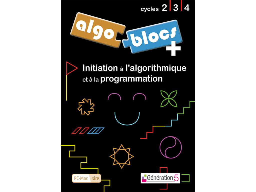 Logiciel d'algorithmique et de programmation Algoblocs +