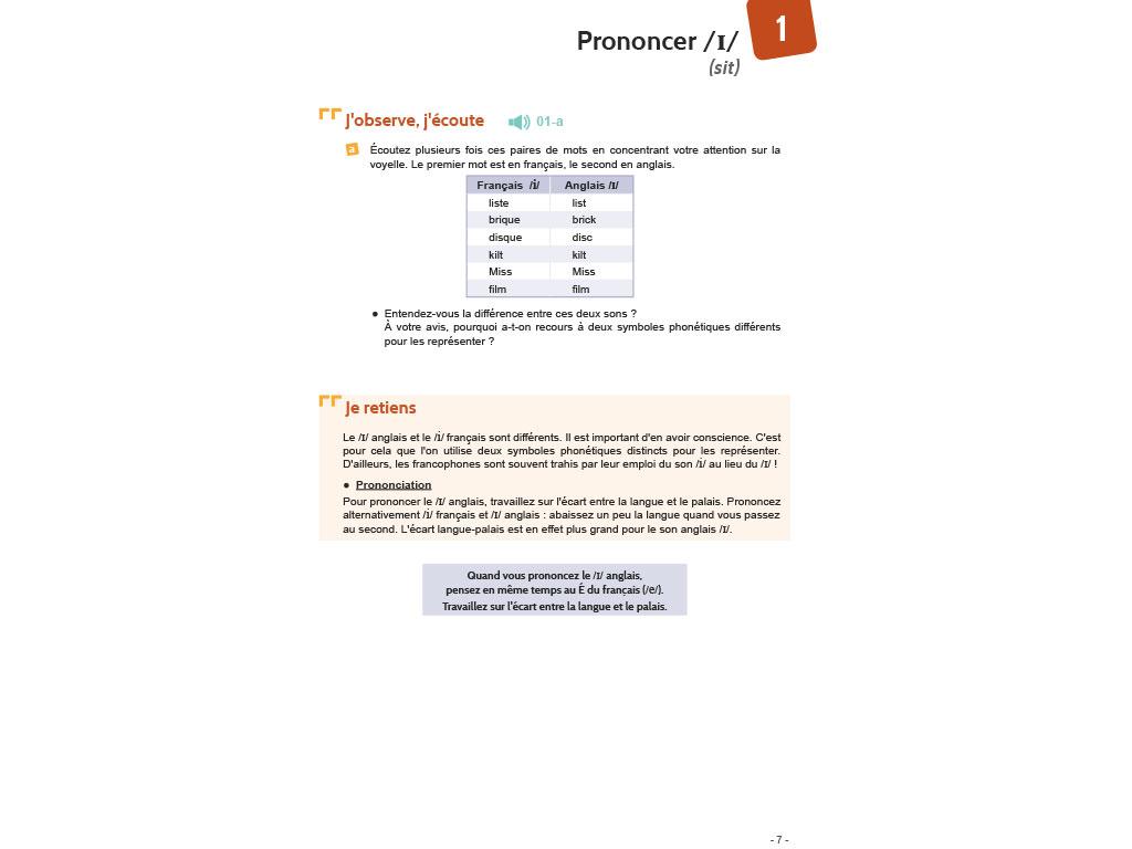 Règle de prononciation - Bien prononcer l'anglais pour les francophones