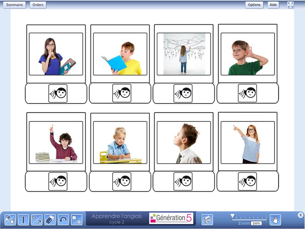 Activité - Apprendre l'anglais Cycle 2 (Ressources TBI-Vidéoprojection)