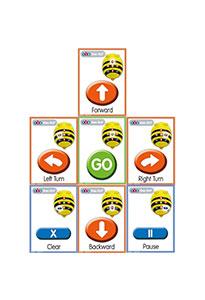 Cartes séquentielles pour Bee-Bot