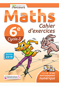 Cahier d'exercices iParcours MATHS 6e (éd. 2019)