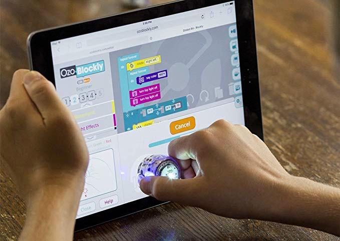 Prorammation avec une tablette
