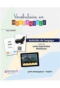 Vocabulaire en maternelle