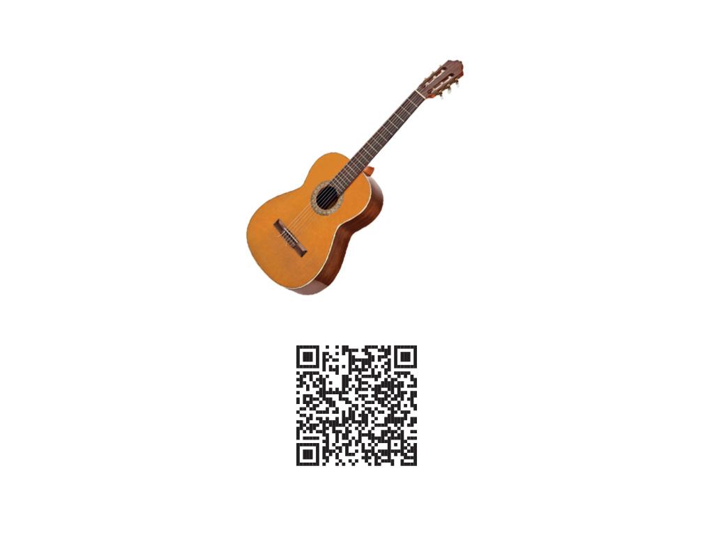 Carte augmentée musique - QR code