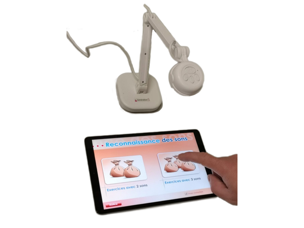 Utilisation d'une tablette avec visualiseur G5-OYO