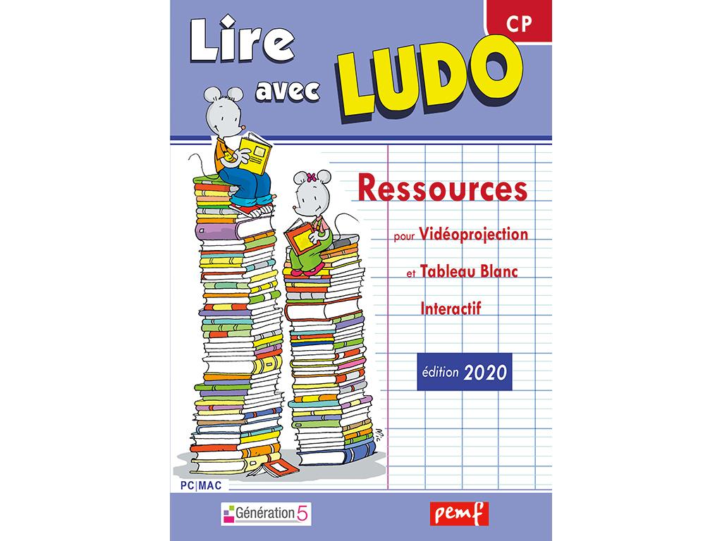 Lire avec Ludo - Vidéprojection
