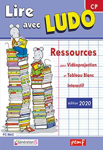 Logiciel pour vidéoprojection - Méthode de lecture Ludo Edition 2020
