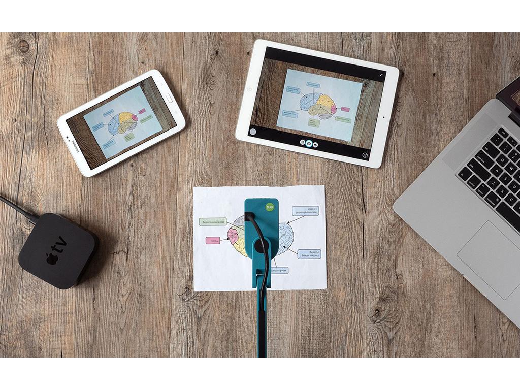 Utilisation visualiseur G5-VZ-X avec tablette, smartphone et pc