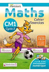Cahier d'exercices iParcours MATHS CM1 (éd. 2020)