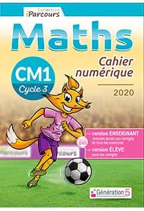 Cahier numérique iParcours Maths CM1 (éd. 2020)