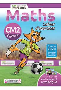 Cahier d'exercices iParcours MATHS CM2 (éd. 2020)