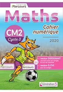 Cahier numérique iParcours Maths CM2 (éd. 2020)