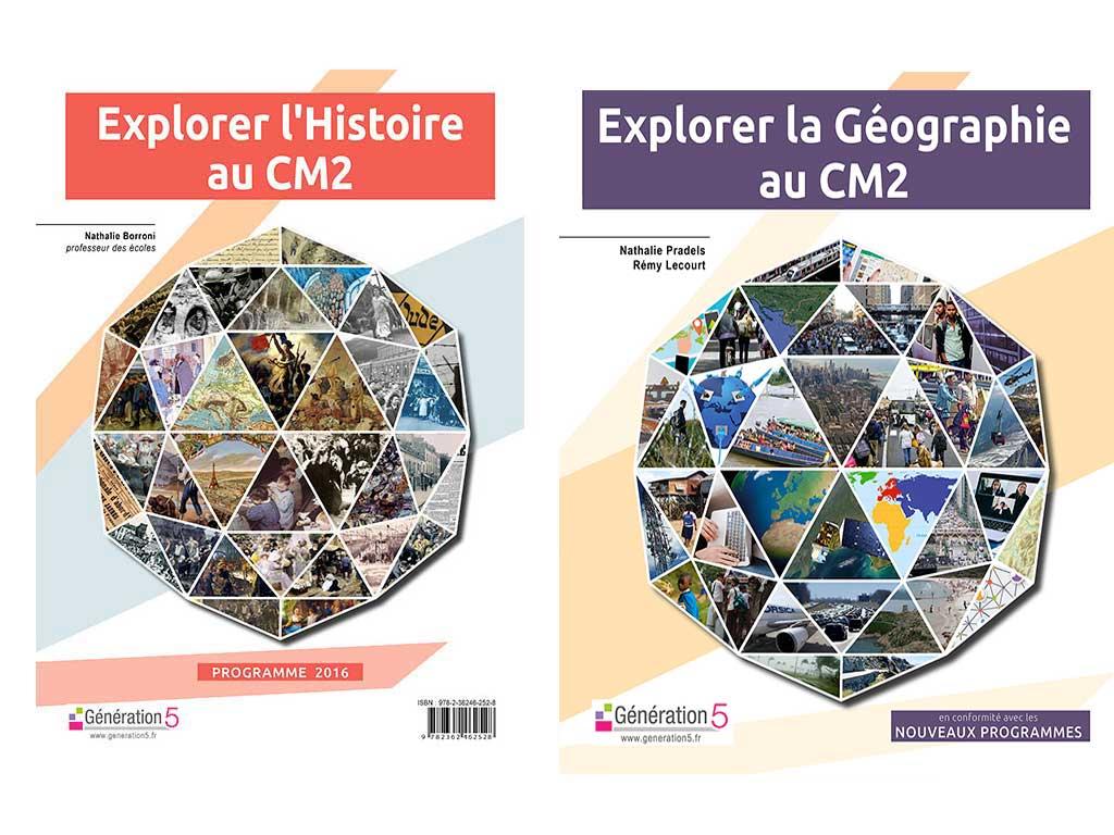 pack Explorer Histoire CM2 et Explorer Geographie CM2
