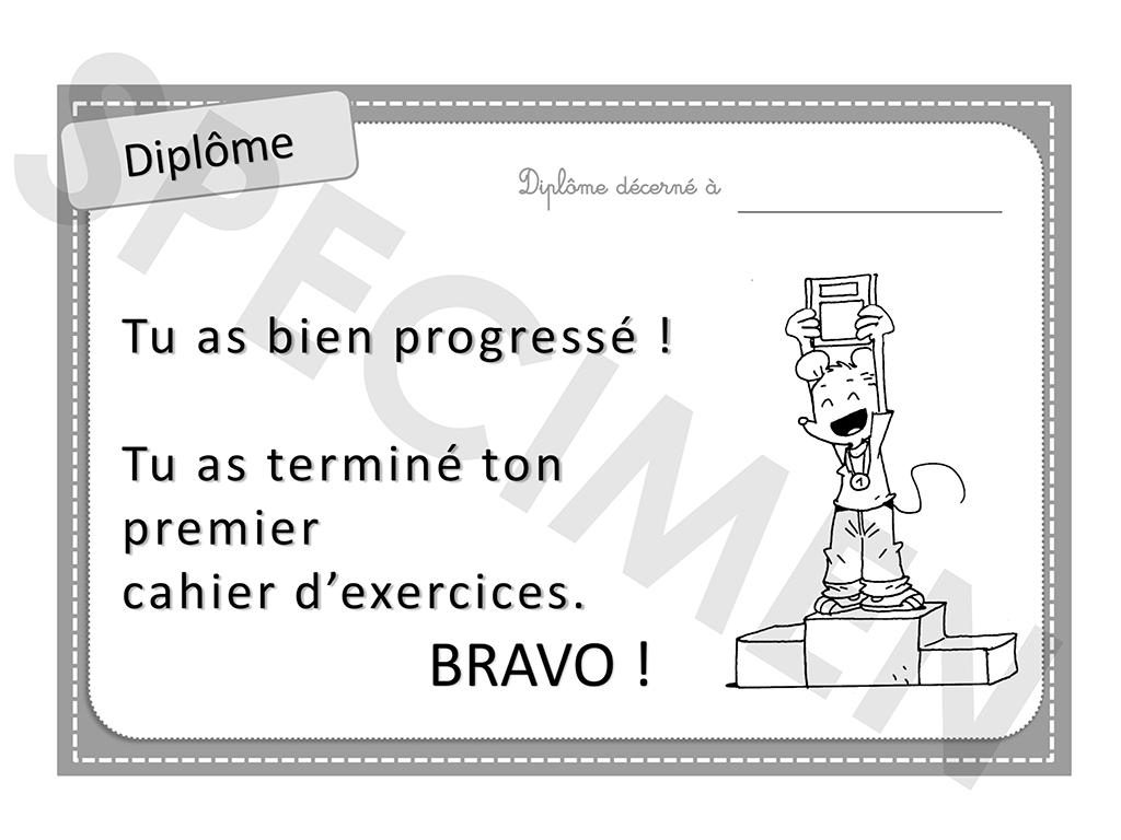 Cahiers Ludo - Diplôme