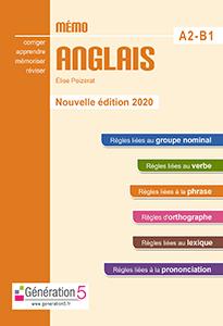 Mémo anglais A2-B1(édition 2020)