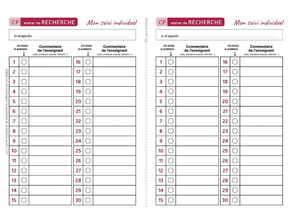 Evaluation - Enseigner la résolution de problèmes au CP